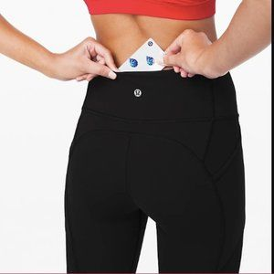 "Lululemon all the right places crop 23"" black"
